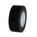 Black Cloth/Gaffer Tape 50mm width x 50mtr. 6 rolls per pack